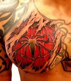 3d Tattoos Bilder - 50 awesome 3d chest designs gravetics