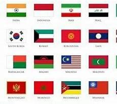 Dari Gambar Di Sing Terdapat 16gambar Bendera Negara Di