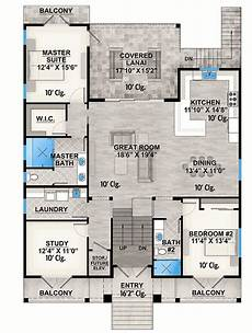 house plans on stilts 2 bed country stilt house with covered lanai 86088bw