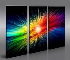 color explosion moderne kunst bilder auf leinwand