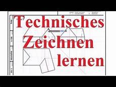 Technisches Zeichnen Lernen Beispiel Haus Mit