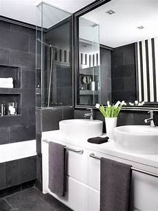 100 fabulous black white gray bathroom design with pictures