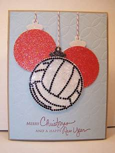 merry christmas happy new year christmas card images volleyball christmas volleyball ornaments