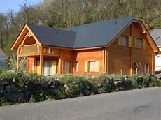 Maison Chalet Neuf En Ossature Bois Gez