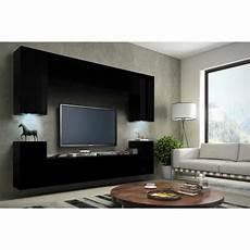salon meuble noir meuble de salon meuble tv complet suspendu concept corps