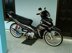 Modifikasi Jupiter Z1 by Modifikasi Motor Jupiter Z1 Warna Hitam Kumpulan Gambar