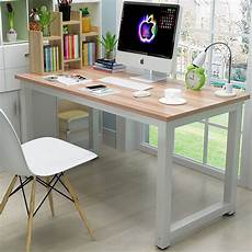 online home office furniture ktaxon wood computer desk pc laptop study table