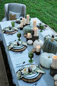 Tischdeko Herbst 51 Vorschl 228 Ge F 252 R Eine Herbstliche Tafel