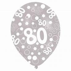 servietten 80 geburtstag bunte luftballons 80 geburtstag quot bubbels quot 6er pack