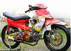 Motor Smash Modif by Foto Gambar Modifikasi Motor Suzuki Smash New Racing Road
