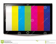 lcd tv test screen stock illustration illustration of
