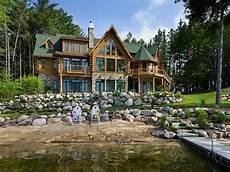 maison en bois de luxe luxury log home log cabin homes michigan