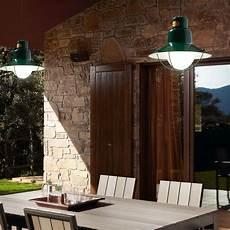 suspension exterieure terrasse suspension ext 233 rieure newport vert 216 28cm e27 60w faro