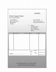 word invoice template mac invoice sle template