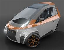 Concept City Cars  μrban Micro Urban 3 Wheel
