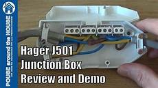 downlighter junction box wiring diagram hager j501 downlighter junction box review and demo how to wire a downlight junction