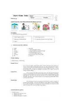 part time worksheets 3051 part time esl worksheet by maryann
