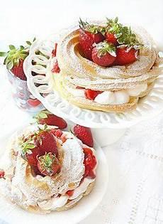 paris brest fatto in casa da benedetta mini paris brest alla crema chantilly e fragole ricette dolci dolci francesi dolcetti