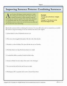 sentence patterns worksheets for grade 3 412 sentence patterns combining sentences tyxgb76aj quot gt this activities and print