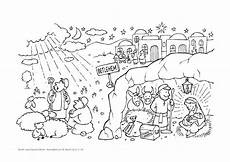 ausmalbild weihnachten lesejahre a und c lk 2 1 14