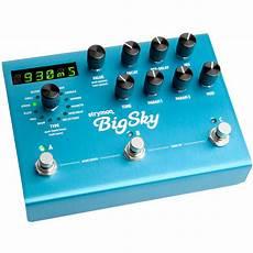 big sky reverb strymon big sky reverberator 171 guitar effect
