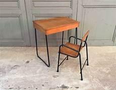 ensemble bureau et chaise enfant vintage