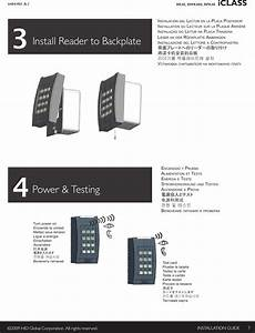 reader hid mifare reader installation guide user manual page 2 6 rpk40c rfid reader keypad user manual iclass keypad installation guide hid global