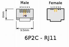 file rj 11 plug and jack svg wikimedia commons