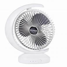 Bakeey Mini Rotating Desktop Summer Noise by Alarm Systems Bakeey Summer Fan Rechargeable Low Noise 3