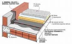 isolamento terrazza calpestabile dettaglio stratigrafia tetto rovescio con manto