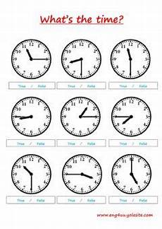 telling the time interactive worksheets
