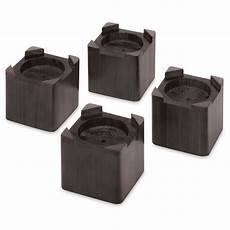 whitmor wood bed risers set of 4 espresso target