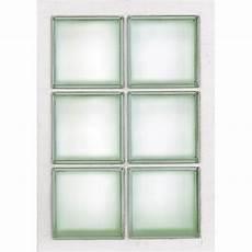 dimension carreau de verre panneau 6 briques de verre transparent leroy merlin