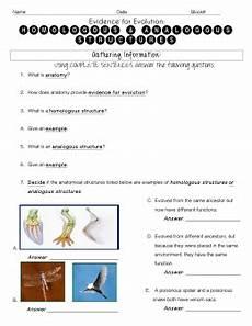 comparing homologous structures lab