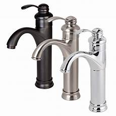 new bathroom faucet vessel sink lavatory single handle hole matching popup drain ebay