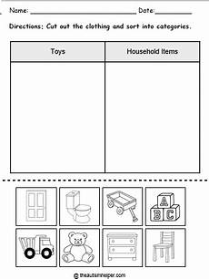 sorting and grouping worksheets 7809 category mega pack the autism helper