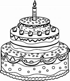 Malvorlagen Age Cake Cake Coloring Pages At Getdrawings Free
