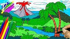 31 Ide Gambar Ilustrasi Tentang Gunung Meletus Terkini