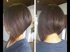 how to cut graduated bob haircut tutorial step by step hairbrained youtube