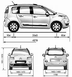 dimensioni c3 picasso auto