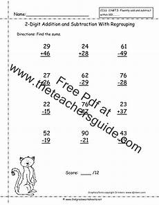 free printable mixed addition and subtraction worksheets for kindergarten 10517 two digit addition and subtraction worksheets from the s guide