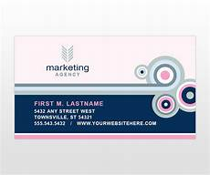 business card size advertisement template marketing agency business card template