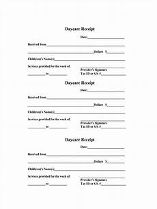 free 9 daycare receipt exles sles in pdf doc docs sheets excel
