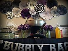 black white purple blue bridal wedding shower party