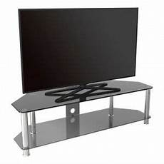 tv stand black glass for up to 65 quot inch for hd plasma lcd