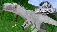 Jurassic World Malvorlagen Mod Indominus Rex Minecraft Jurassicraft