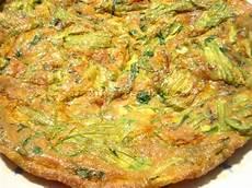 frittata con fiori di zucchina frittata di fiori di zucca al forno