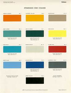 oldgmctrucks com old gmc paint codes color chips paint matches paint specifications