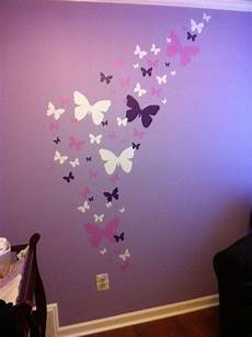 small flower wallpaper for wall butterfly wall stickers purple lilac white wall