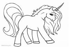 Einhorn Malvorlagen Kostenlos Unicorn Coloring Pages Line Free Printable Coloring